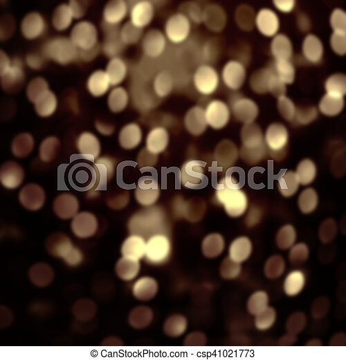 Abstract Christmas Glitter Vintage Lights Background