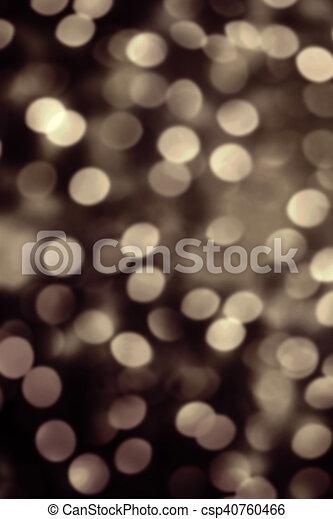 Abstract Christmas Glitter Vintage Lights Background Dark Gold Defocused Wallpaper With Sparkling Bokeh