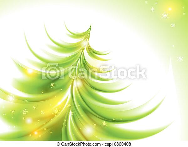 Abstract christmas tree - csp10860408