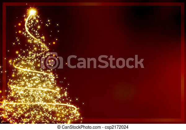 Abstract christmas tree - csp2172024