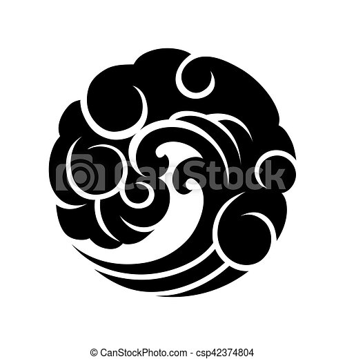 Abstract Circle Wave Abstract Graphic Wave In The Shape Of Circle