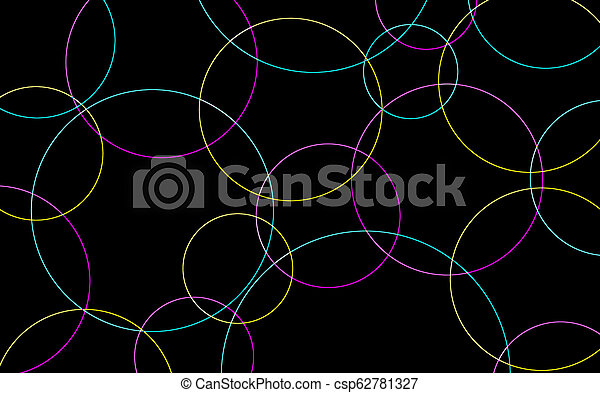 Abstract Circles Background - csp62781327