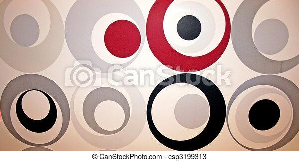 Abstract circles - csp3199313