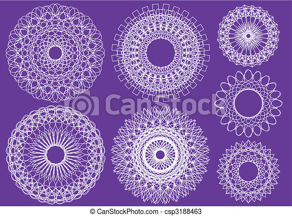 Line Art Design Abstract : Abstract geometric line art like labyrinth stock vector