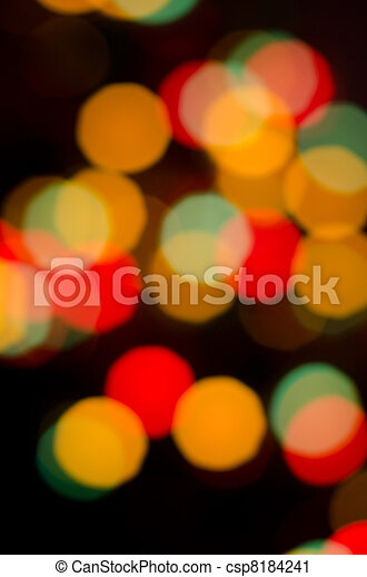 abstract circles on a colorful background - csp8184241