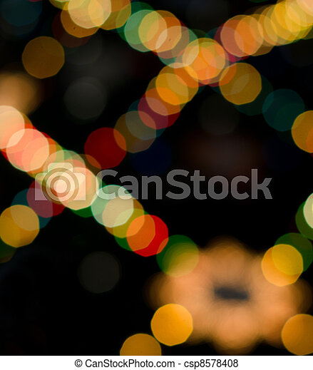 abstract circles on a colorful background - csp8578408