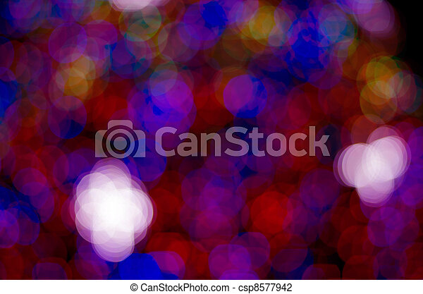 abstract circles on a colorful background - csp8577942