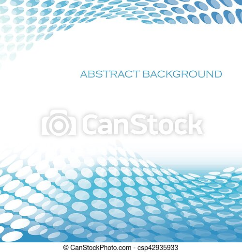 abstract circular pattern waves blue background abstract background
