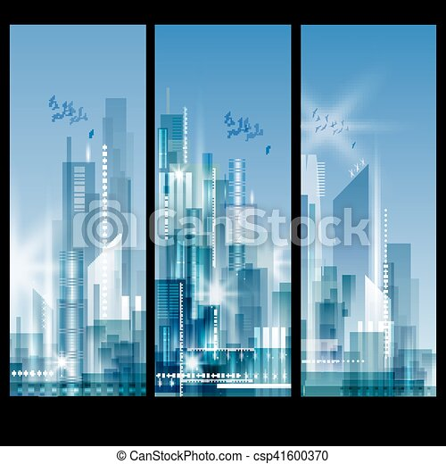 abstract city landscape abstract modern city skyline