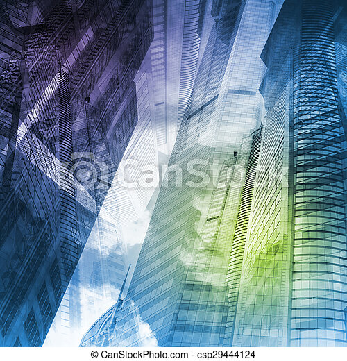 Abstract cityscape - csp29444124