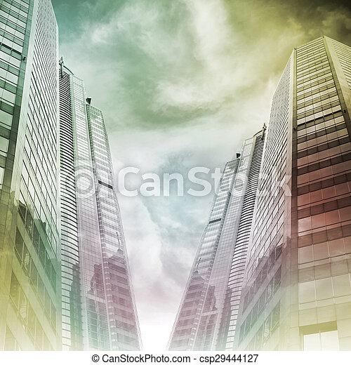 Abstract cityscape - csp29444127