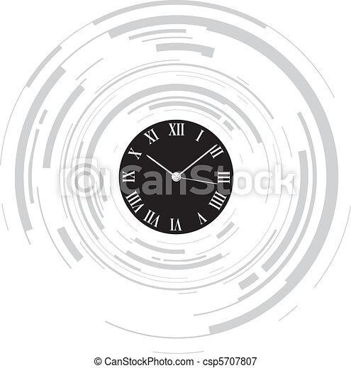 abstract clock - csp5707807