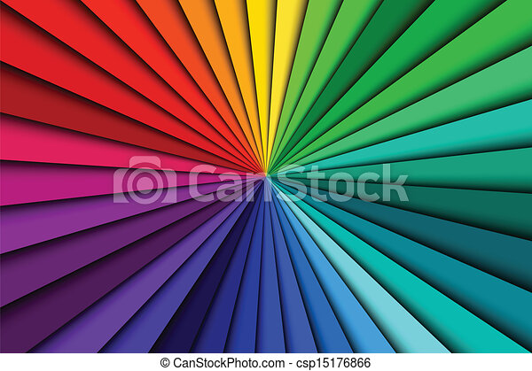 Abstract color background spectrum lines - csp15176866