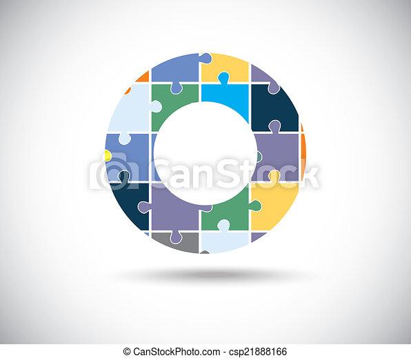 Abstract color circle - csp21888166
