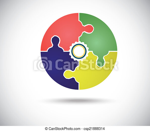 Abstract color circle - csp21888314