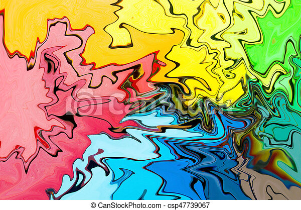 Abstract colorful background - csp47739067