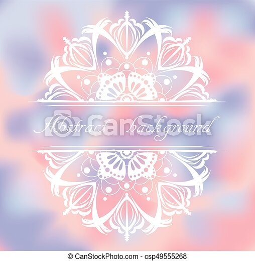 Abstract colorful background with pattern. - csp49555268