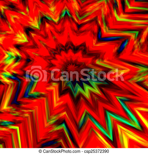 Abstract Colorful Bang Background - csp25372390