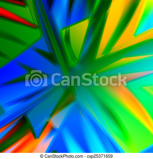 Abstract Colorful Boom Background - csp25371659