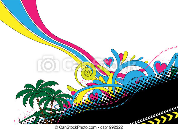 abstract colorful design - csp1992322