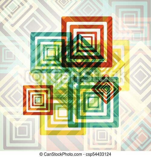 Abstract colorful eps10 vector background - csp54433124