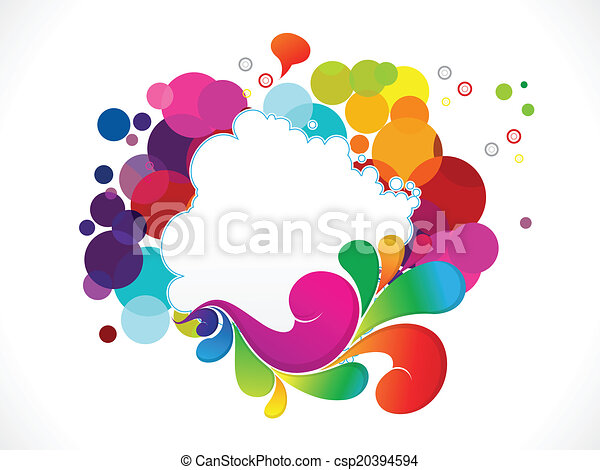 abstract colorful explode - csp20394594
