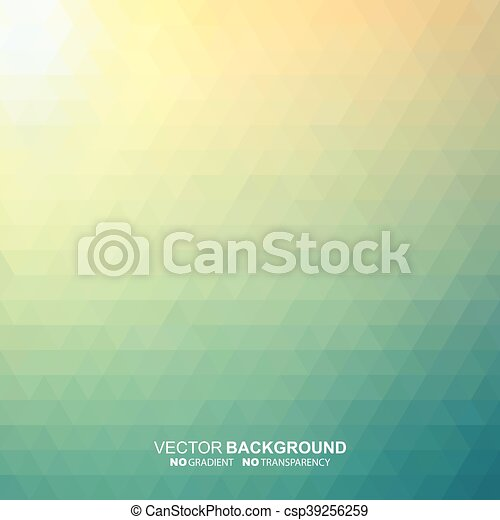 Abstract colorful geometric blur background. - csp39256259