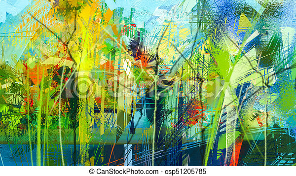 Oil Art Painting Background