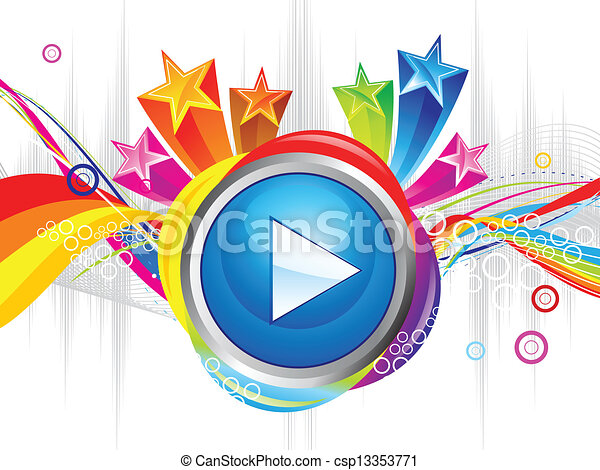 abstract colorful play explode - csp13353771