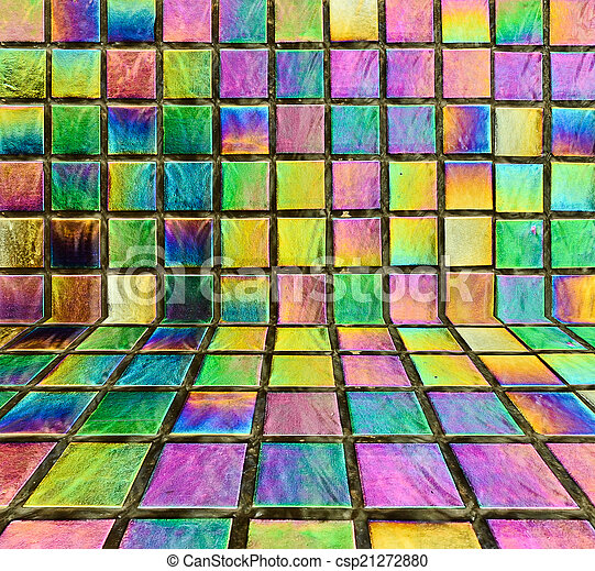 Abstract colorful rainbow background - csp21272880