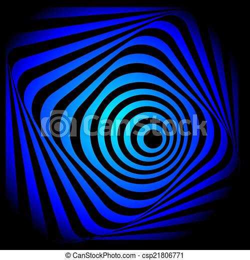 Abstract colorful swirl image. - csp21806771