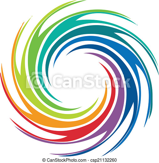 abstract colorful swirl image logo abstract colorful swirl clip rh canstockphoto com spiral graphics wood workshop swirly graphics