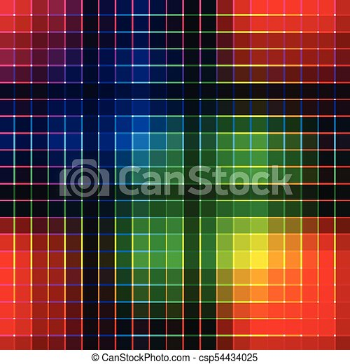 Abstract colorful vector background - csp54434025