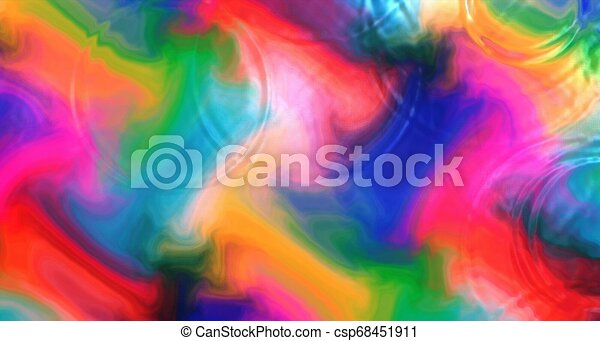 Abstract Colorful Wallpaper Background Water Ripples Waves Circles
