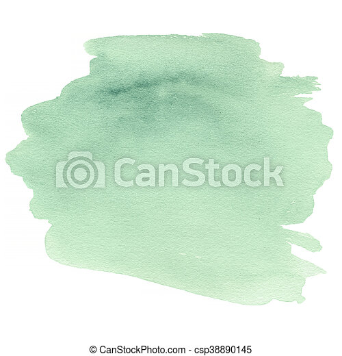 Abstract colorful watercolor for background. Hand Painted water colour stain texture - csp38890145