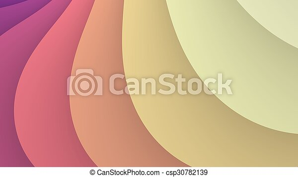 Abstract colorful waves background - csp30782139