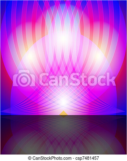 Abstract colourful background from  - csp7481457