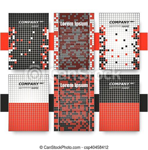 Abstract composition business card set correspondence letter abstract composition business card set correspondence letter collection brochure title sheet colourmoves