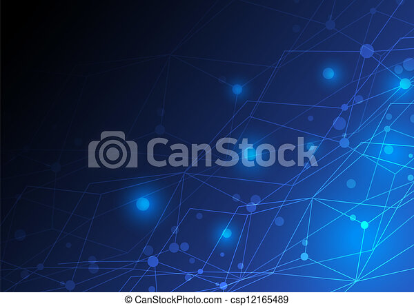 abstract concept, ontwerp, netwerk - csp12165489