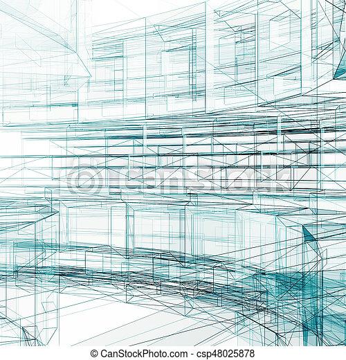 Abstract concept - csp48025878