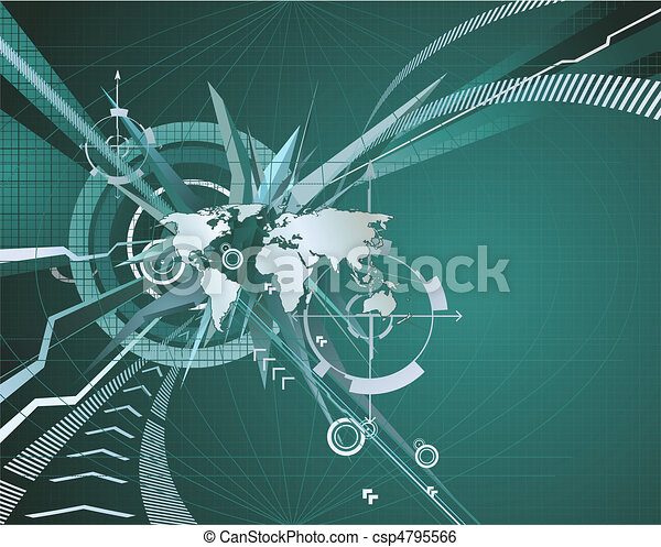 Abstract corporate business background - csp4795566