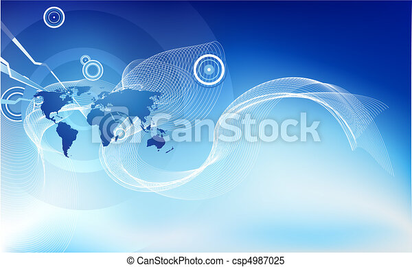Abstract corporate business background - csp4987025