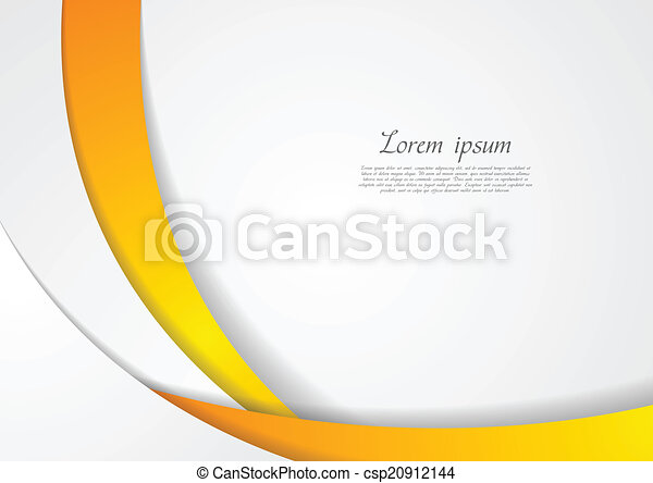 Abstract corporate wavy backdrop - csp20912144