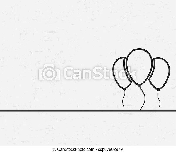 Abstract creative concept line draw background for web, mobile app, illustration template design, business infographic, page, brochure, banner, presentation, poster, cover, booklet, document. - csp67902979