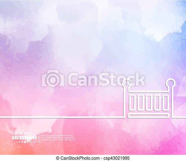 Abstract Creative concept vector background for Web and Mobile Applications, Illustration template design, business infographic, page, brochure, banner, presentation, booklet, document - csp43021995