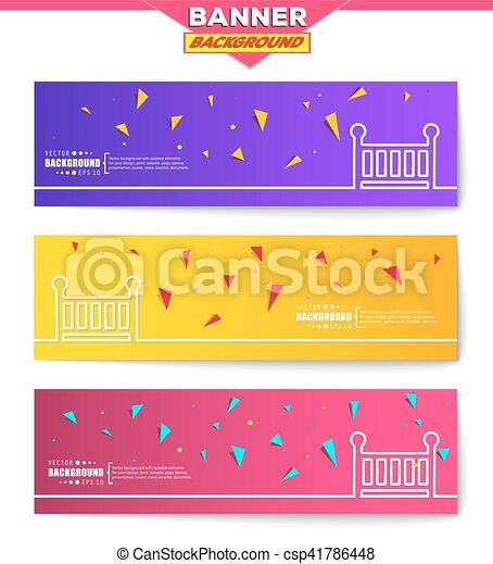 Abstract creative concept vector background for Web and Mobile Applications, Illustration template design, business infographic, page, brochure, banner, presentation, poster, cover, booklet, document - csp41786448