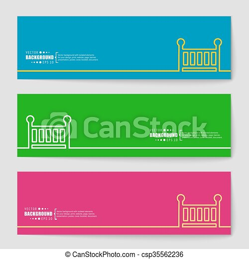 Abstract creative concept vector background for Web and Mobile Applications, Illustration template design, business infographic. - csp35562236