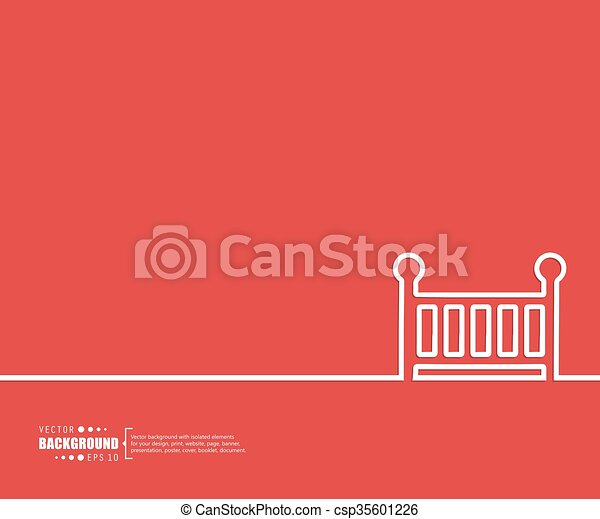 Abstract creative concept vector background. For web and mobile applications, illustration template design, business infographic, brochure, banner, presentation, poster, cover, booklet, document - csp35601226