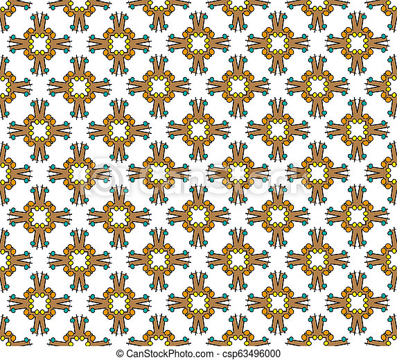 abstract cross textile pattern - csp63496000