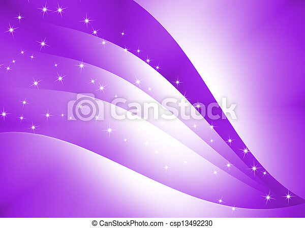 Abstract curve texture with purple background - csp13492230